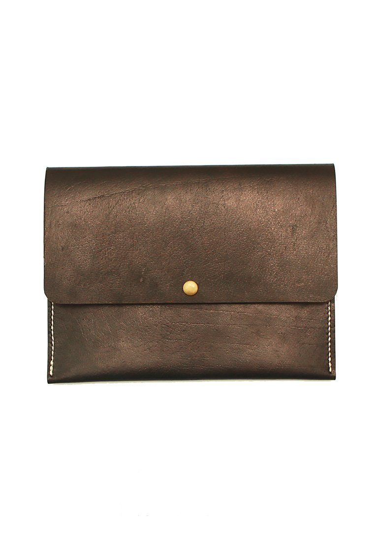 Leather.PH Travel Clutch - Black