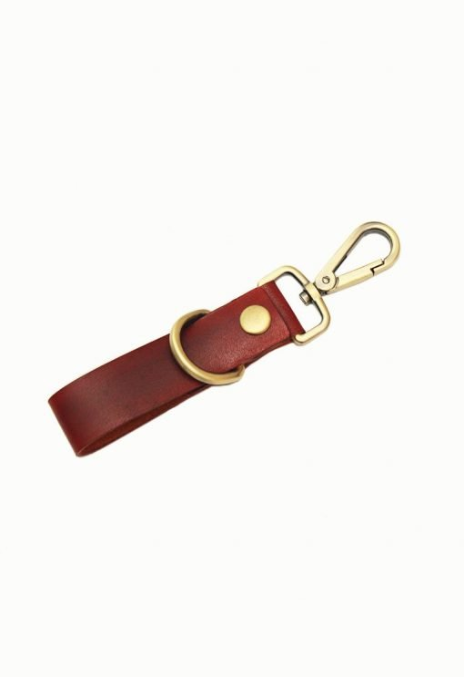 Leather.PH Key Chain Extra - Red