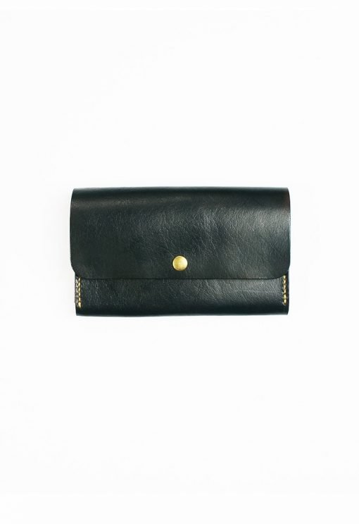 Leather.PH Phone Clutch - Black