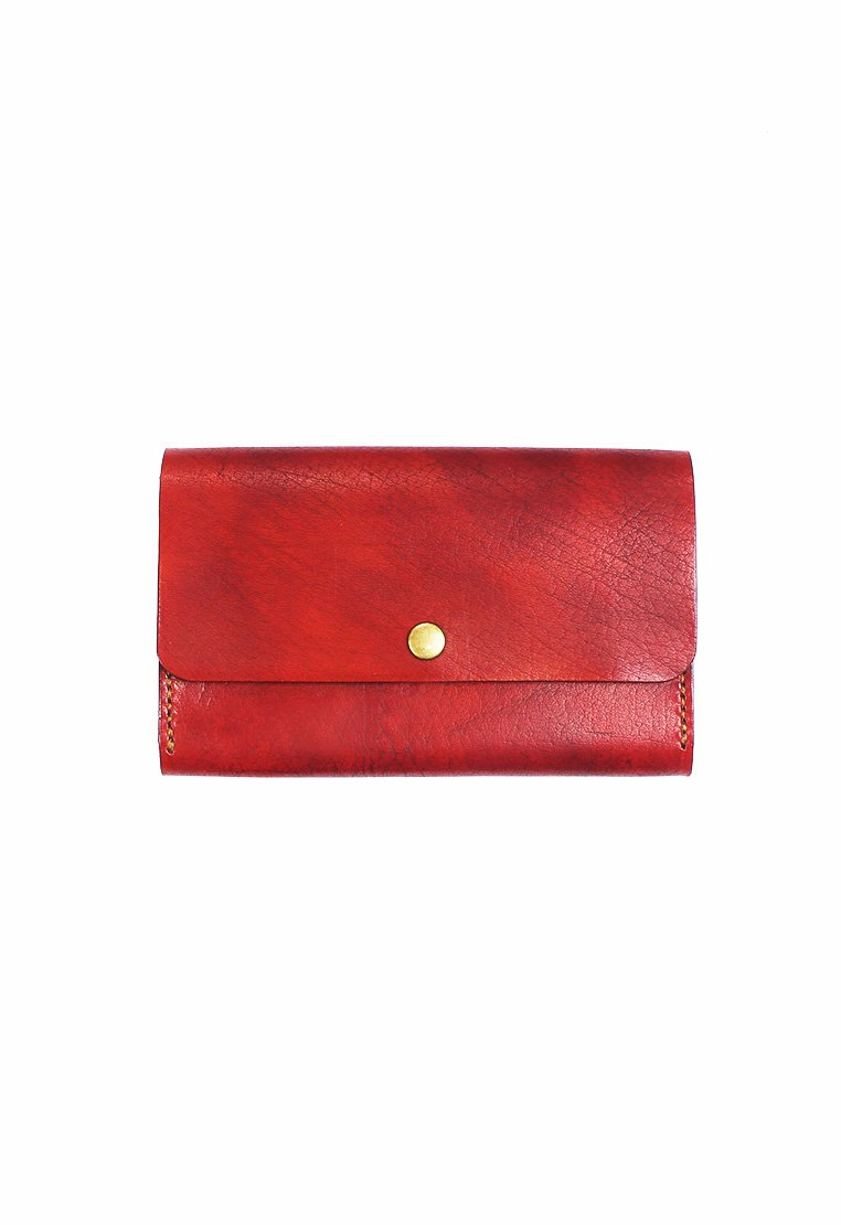 Leather.PH Phone Clutch - Red